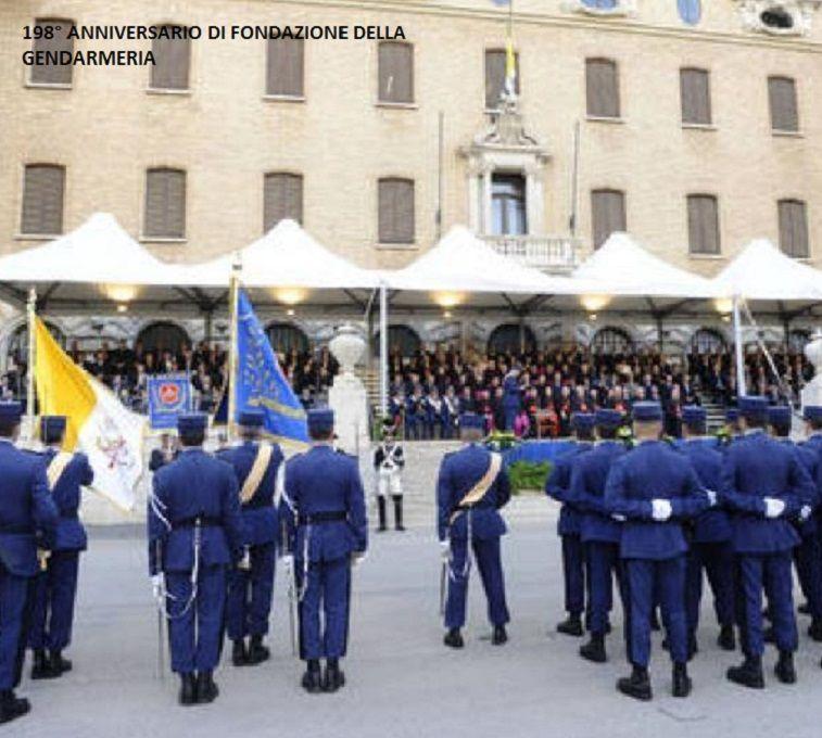Stato Citt Del Vaticano Celebrato Il 198 Anniversario